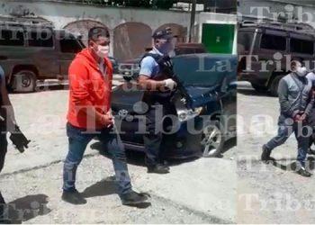 Detienen a dos hombres por el tráfico ilegal de personas en Siguatepeque