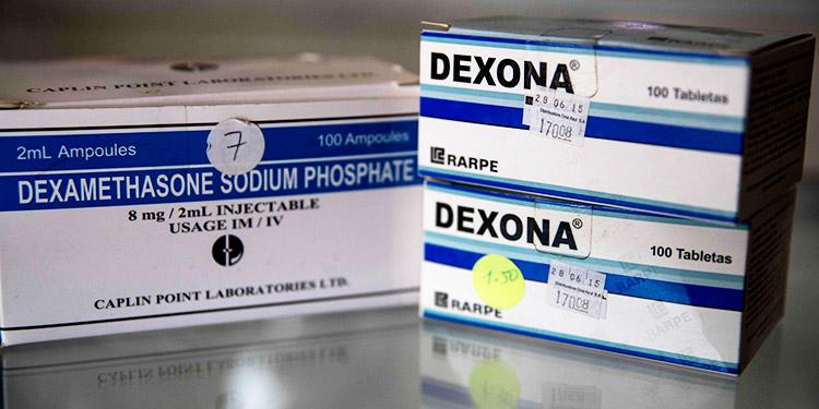 OMS exhorta a incrementar producción y distribución masiva de dexametasona