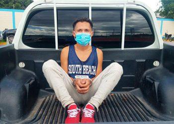 Arrestan a supuesto integrante de la MS-13 en posesión de droga en la capital