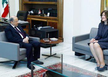Juez en Líbano prohíbe entrevistar a embajadora de EEUU