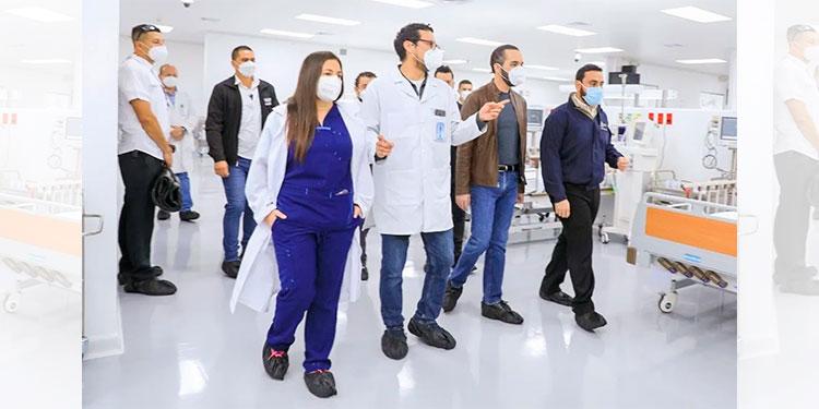 El Salvador pone a funcionar hospital para COVID-19