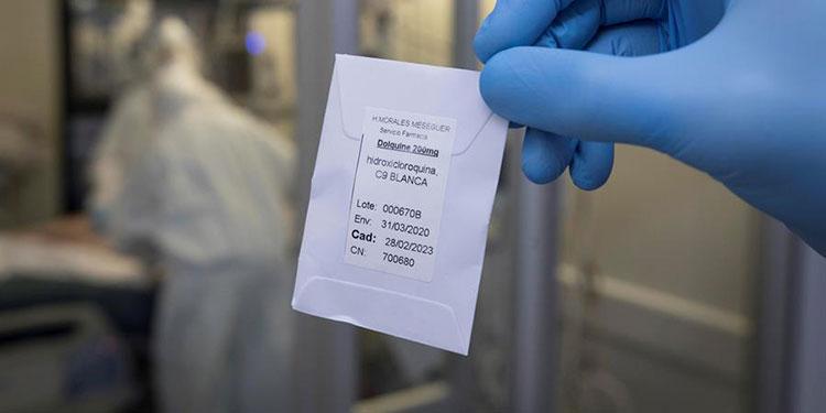 Nuevo estudio sostiene que hidroxicloroquina no reduce muertes por COVID-19