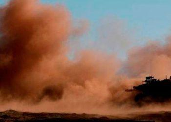 Una decena de muertos en una explosión contra un autobús del Ejército sirio