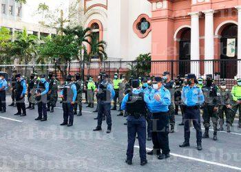 Fusina realiza operativos de seguridad por pago de decimocuarto mes en SPS