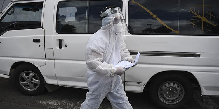 Ciento cincuenta contagios en casa presidencial de Guatemala