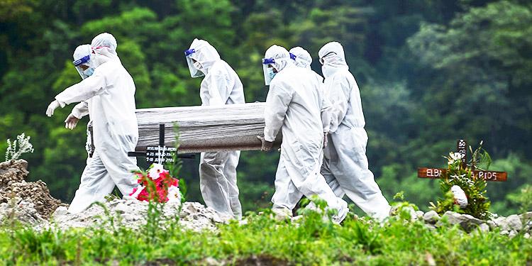 Marco Girón: Hemos llegado lastimosamente a la fase seis de la pandemia