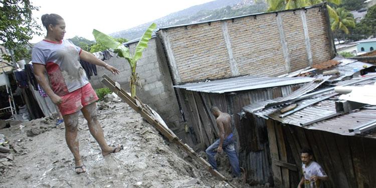 Honduras no ha logrado recuperarse completamente de los daños que dejó el Mitch.