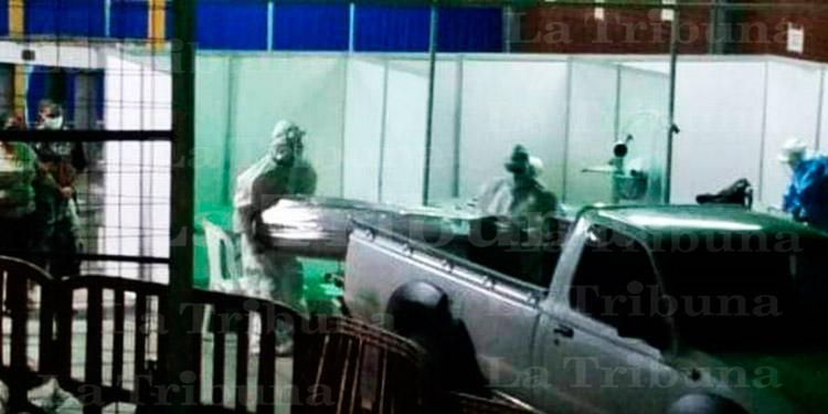 Mueren dos sospechosos de COVID-19 en Centro de Triaje del Infop