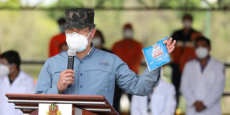 Presidente Hernández instruye al Canciller buscar vacuna para Honduras