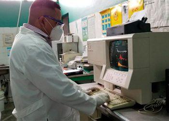 Entre 20 y 40 estudios de laboratorio realizan a diario en la cárcel de Támara