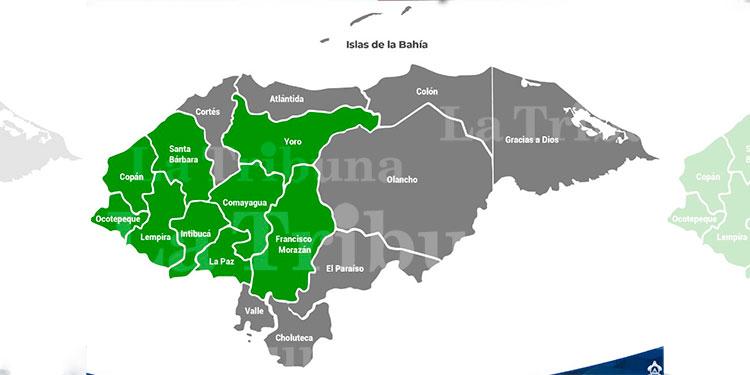 Sigue alerta verde en nueve departamentos por lluvia y riesgo de inundaciones