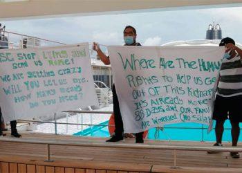 Marinos varados en Las Bahamas podrían regresar en los primeros días de julio