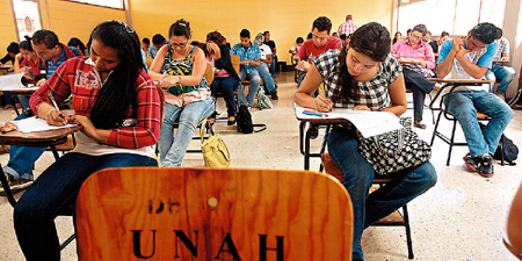 Más de 50 mil estudiantes matriculados en la UNAH