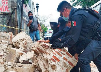 Se eleva a cuatro el número de muertos por sismo en México (Video)