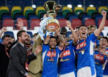 Nápoles supera al Juventus y gana la Copa de Italia