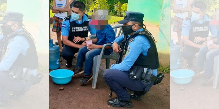 Recuperan a niño reportado como desaparecido en Santa Cruz de Yojoa