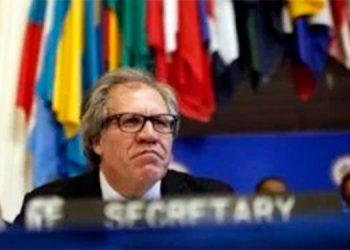 Almagro pide a la OEA declarar la ruptura del orden democrático en Nicaragua