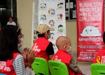 Con el aporte del BCH aislarán a los niños con cáncer en las clínicas de la Fundación en la capital, San Pedro Sula y La Ceiba.
