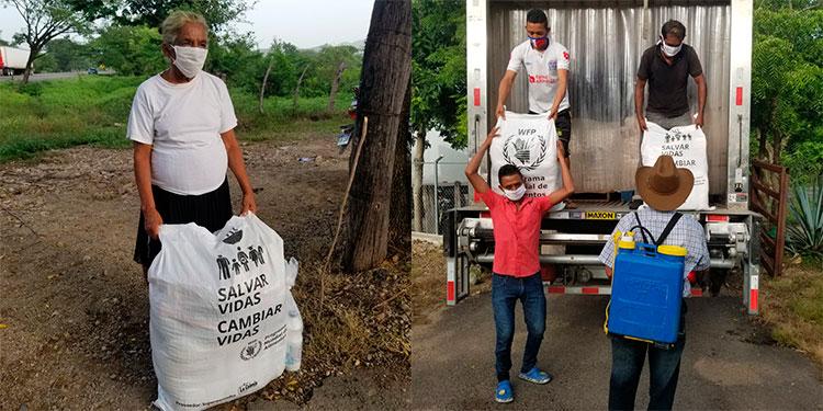 PMA entrega alimentos a más de 29 mil familias afectadas por COVID-19