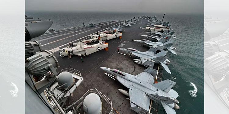 La Marina confirma el despido del capitán del portaaviones que pidió ayuda por crisis de COVID-19