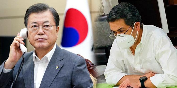 Gobernante de Corea del Sur lamenta estado de salud del presidente Hernández