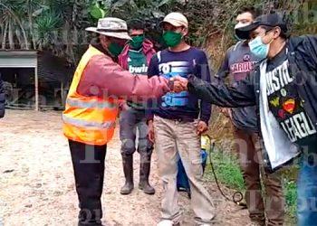 Así recibieron a paciente curado de COVID-19 en Intibucá (Video)