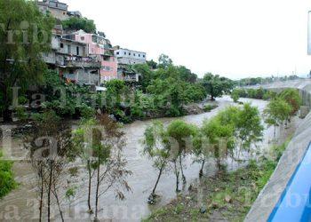 Preocupación por crecida del río Grande