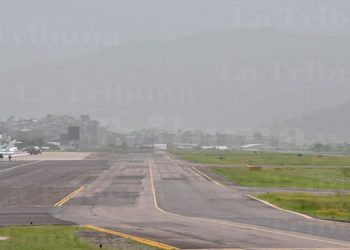 Así se ve la nube de polvo del Sahara 'Godzilla' en la capital (Galería/Video)