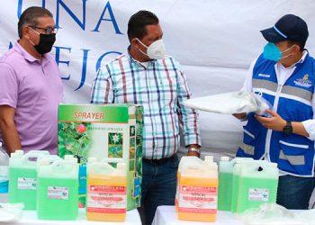 Sedis entrega equipo de bioseguridad a pastores evangélicos