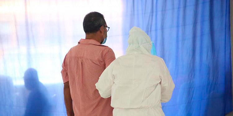 Diógenes Chávez Seis centros de triage funcionan actualmente en Cortés