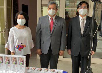 Taiwán entrega donación al BCIE ante el COVID-19