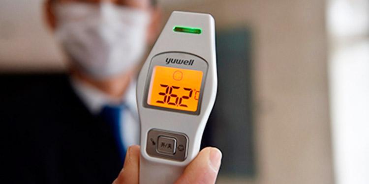 ¿Los termómetros 'pistola' dañan la vista con su rayo láser?