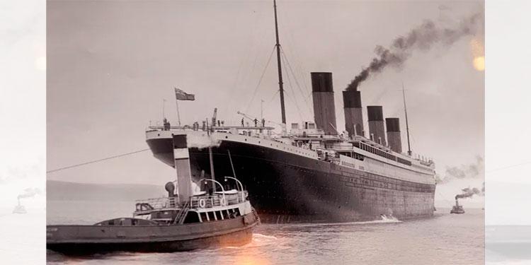 108 años después revelan foto del presunto iceberg que hundió al Titanic