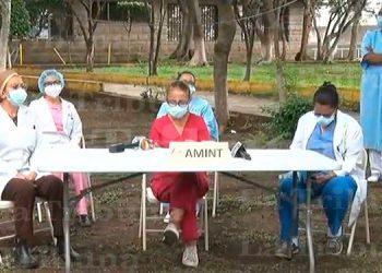 Médicos del hospital de El Toráx denuncian falta de equipo para atender pandemia