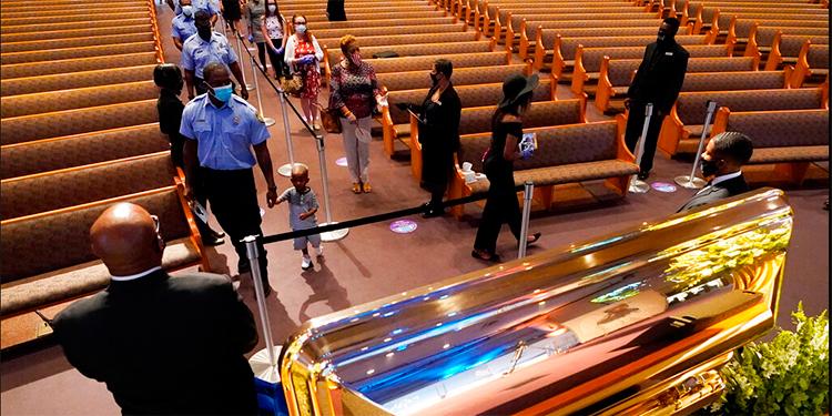 Estados Unidos despide a George Floyd en un funeral privado por el cambio
