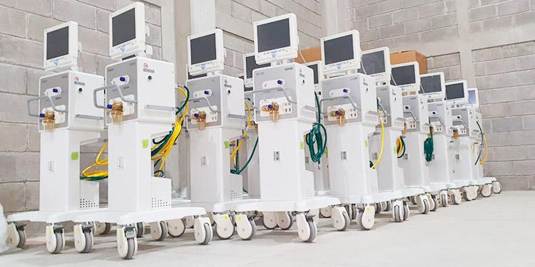 Salud entregará 160 ventiladores mecánicos de Invest-H a hospitales