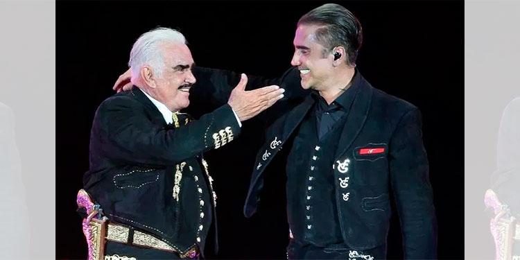 """Alejandro Fernández estrena """"Mentí"""" a dueto con su padre"""