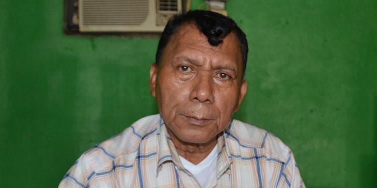 Alfonso Montoya, presidente del sindicato del HGS.
