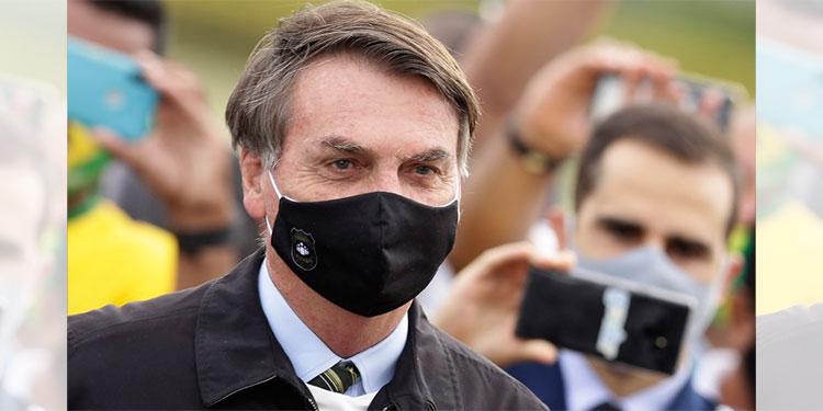 Bolsonaro pasa primera semana con restricciones por COVID-19