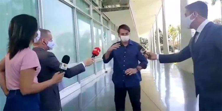 Demandarán a Bolsonaro por poner en riesgo a periodistas