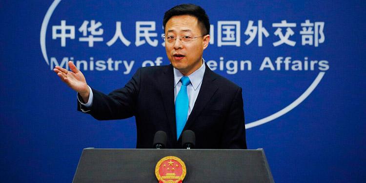 China pide información sobre personal de prensa de EEUU