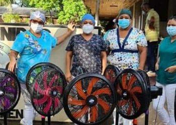 """""""Corazones Dispuestos"""" apoyan al Hospital del Sur"""