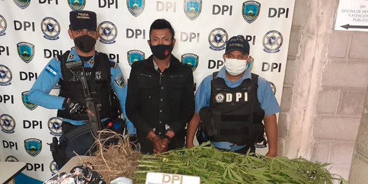 Por tráfico ilícito de drogas fue acusado ante el MP, Aroni Antonio Banegas Padilla.