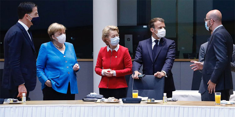 UE pacta fondo de €75.000 millones postcovid Bruselas
