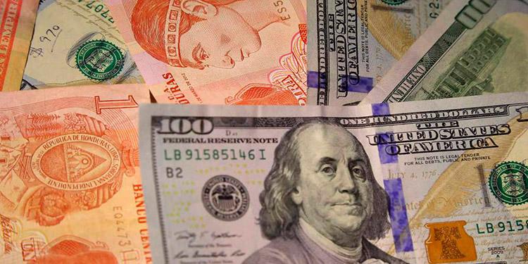 El lempira se fortalece más de 12 centavos durante junio