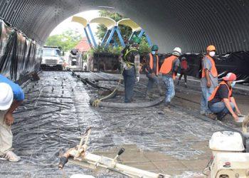 El proyecto que entró a la tercera semana de construcción, estaría listo el próximo 15 de agosto.