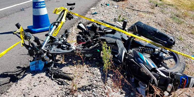 Los accidentes en motocicletas se han incrementado debido a que muchos de los repartidores de productos se desplazan en ese tipo de unidades.