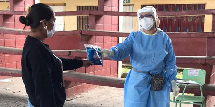 23 tratamientos Maíz entregaron a igual número de pacientes sospechosos de COVID-19 en Comayagüela.