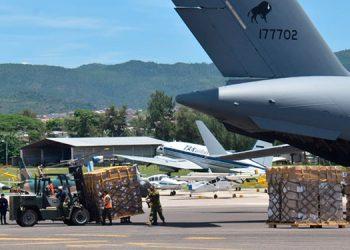 La Sesal recibió 17 toneladas de Equipo de Protección Personal, que fue adquirido con apoyo de la OPS.
