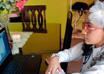 Educación virtual en el área urbana.
